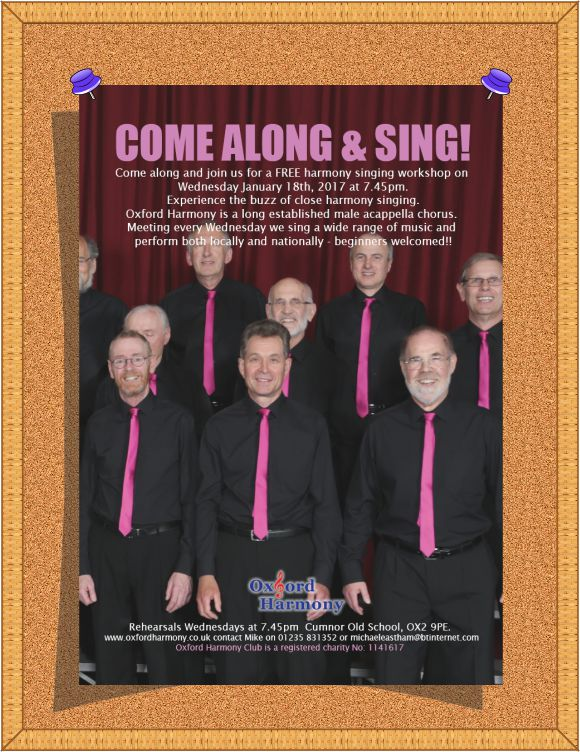 Come and Sing Flyer Composite