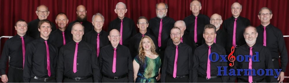 Oxford Harmony – THE Close Harmony Chorus for Oxford and District
